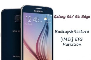 Backup and restore EFS partition and IMEI on Samsung Galaxy