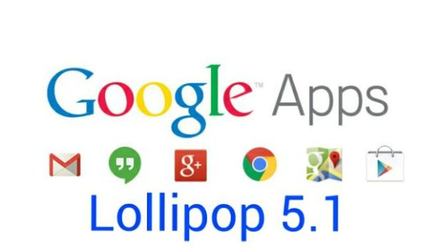 Google Apps for Lollipop 5.1 ROMs