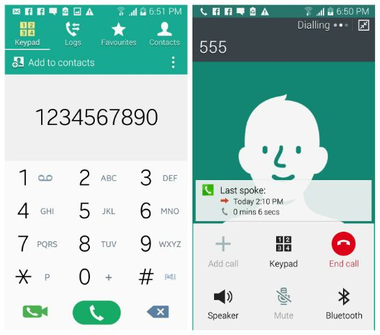 S5 Lollipop Dialer and Contacts ported to Galaxy S3