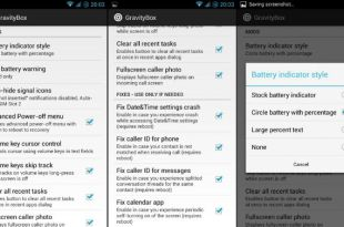Gravity Box Xposed Module available for Lollipop devices