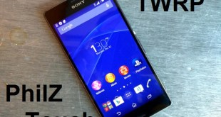 Custom Recovery for Xperia Z2 and Z3