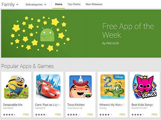 google play free app of the week