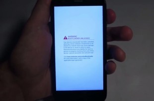 Bootloader warning removed on moto devices
