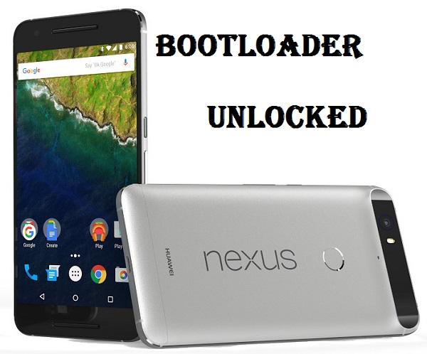 Unlock Nexus 6P Bootloader