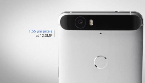 Nexus 6P Camera Sensor