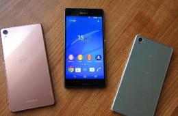 Sony xperia Z5 apps