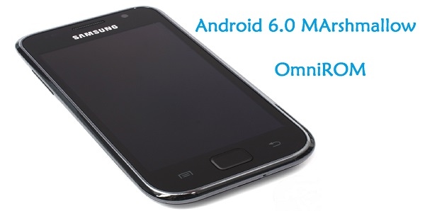 Galaxy S I9000 Android 6.0