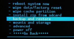 Nandroid-Backup