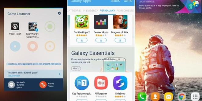 galaxy S7 apps ported