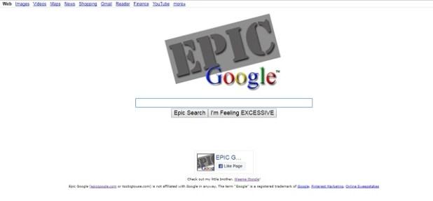 Google Epic Search