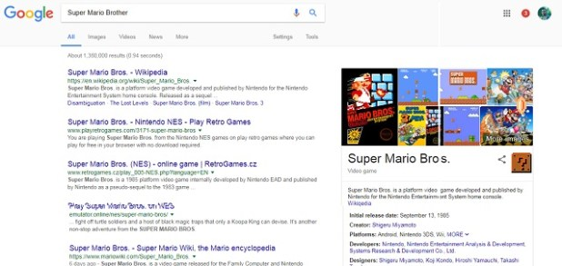 Google Super Mario Bros