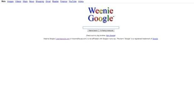 Weenie Google