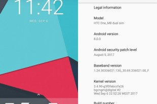 LineageOS 15.0 HTC One M8