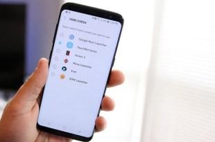 Google Now launcher problem galaxy S8