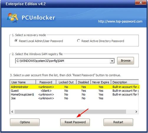 PC Unlocker