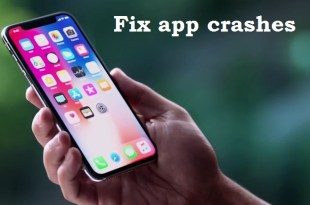 iPhone X App crashes