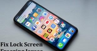 iPhone X Screen Freezing