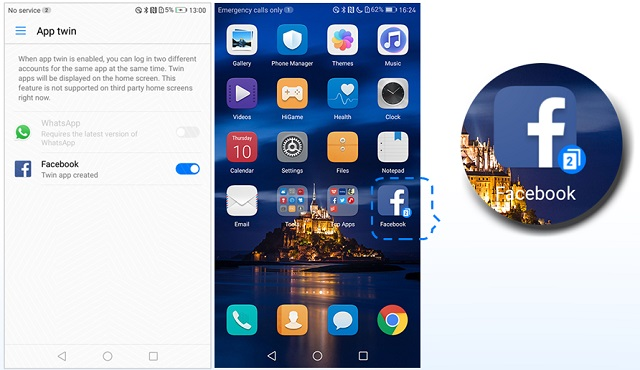 How to Enable the App Twin Feature on Huawei & Honor Devices - Dory Labs