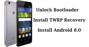Huawei P8 Lite unlock bootloader, twrp