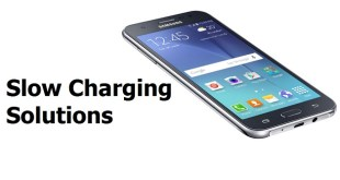 Galaxy J5 slow charging
