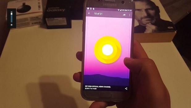 Galaxy S7 Android Oreo