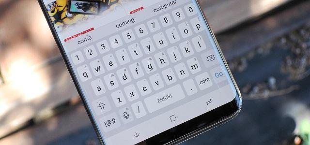 Tastatur samsung s9
