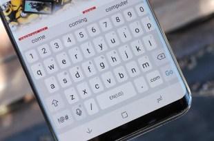 Galaxy S9 Keyboard