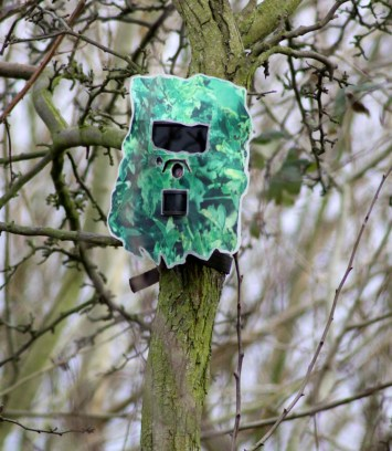 Hmmm, if this is your idea of camouflage ... lol