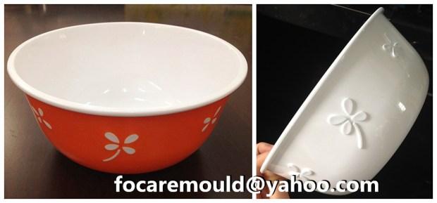insertar ensalada de tazon moldeada