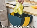 2k papeleras de cocina plegadas