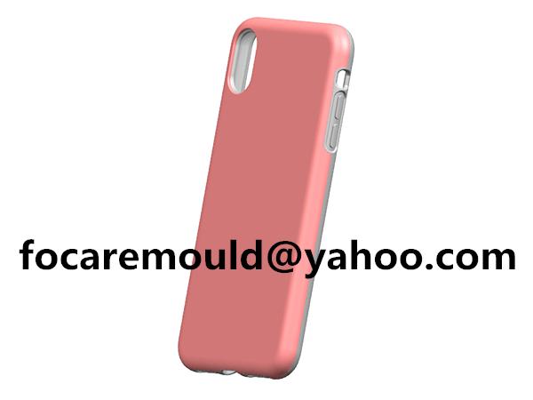 Molde de carcasa de doble iPhone
