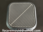 bandejas de servir molde de inyeccion 2k