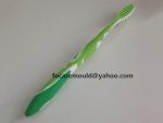 Diseno de molde de cepillo de dientes de 3 colores