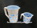 jarra de plastico de doble molde