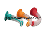 plastico doble color guedel via aerea oral
