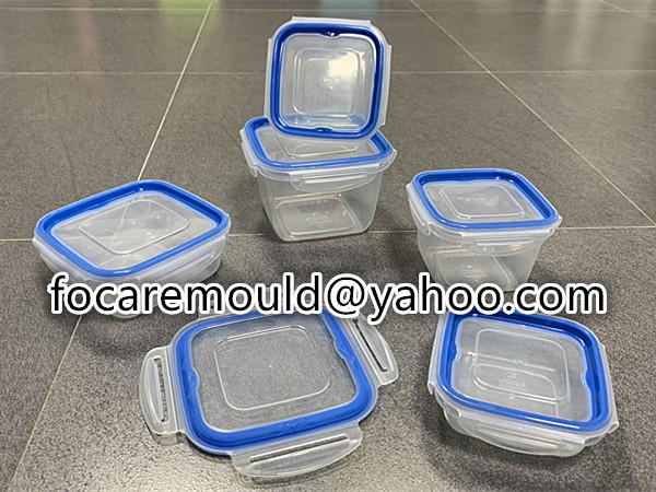 caja de comida de nevera de doble componente