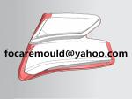 molde de lampara de cabeza de dos colores