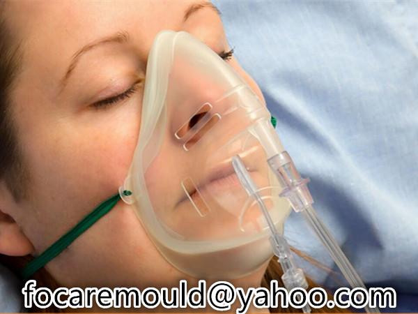 Molde de mascara de CO2 de marea final de dos disparos