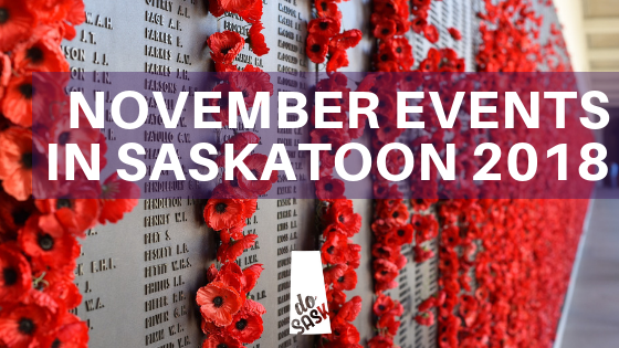 November Events in Saskatoon 2018