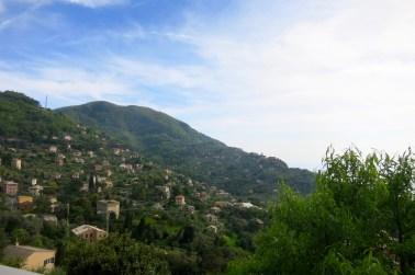 Subiendo a San Lorenzo della Costa