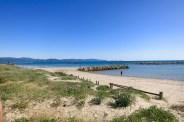 Vista de la costa cerca de Follonica