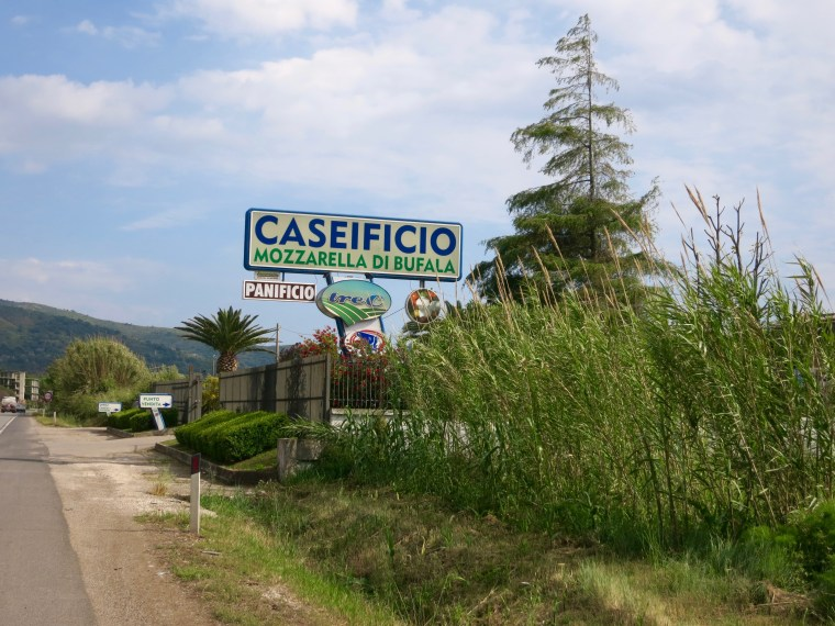 Una de las queserías donde hacen la famosa Mozzarella