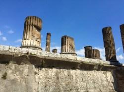 Templo de Júpiter en el Foro de Pompeya