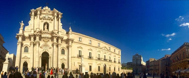 Plaza del Duomo de Siracusa