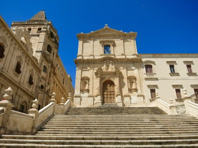 Iglesia en el Corso Vittorio Emanuele de Noto