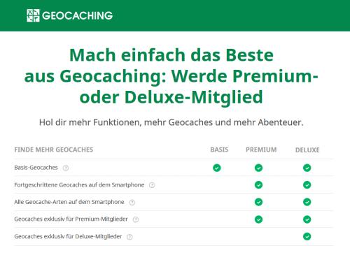 Geocaching premium mitgliedschaft günstig