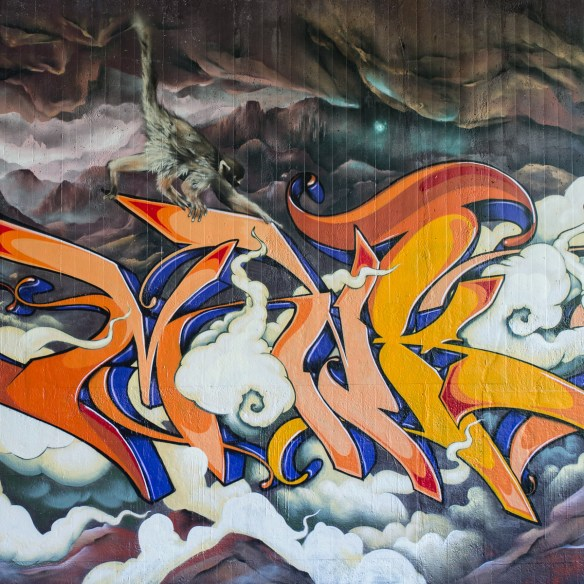 2013-06-06 X100 Graffiti Wiesbaden Tannhäuserstraße 008