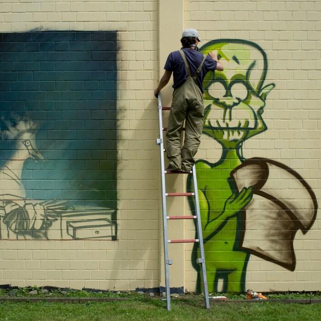 2013-06-29 X100 Graffiti Freiraumgallerie Maintal 013