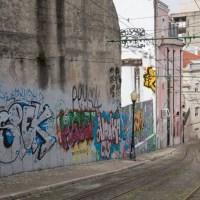 Lissabon - Galeria de Arte Urbana (GAU) - Beispiel für eine legale Galerie (Part 2)