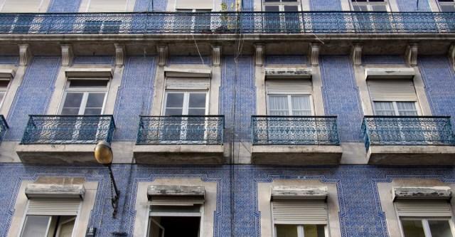 Lissabon Streetart Hauswand